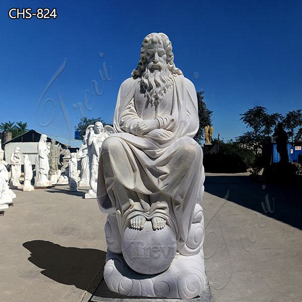 Life Size Marble Jesus Earth Statue Church Decoration for Sale CHS-824