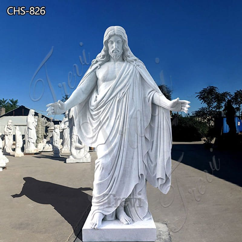 Life Size Marble Jesus Statue Church Decoration for Sale CHS-826 (2)