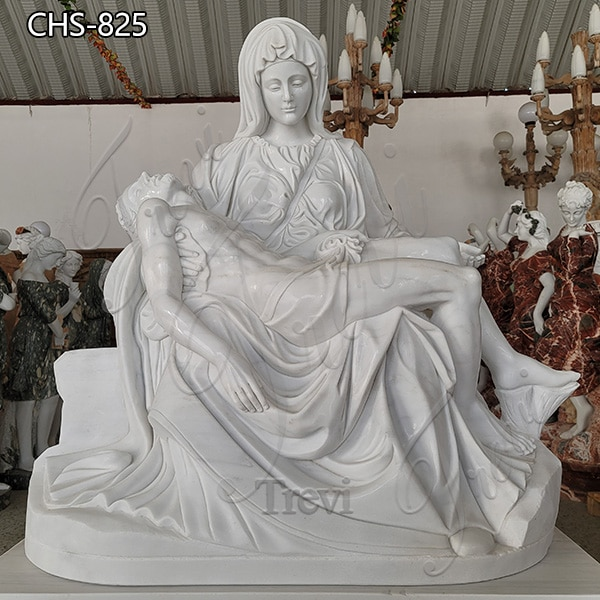 Life Size Marble Pieta Statue Church Decoration for Sale CHS-825 (1)