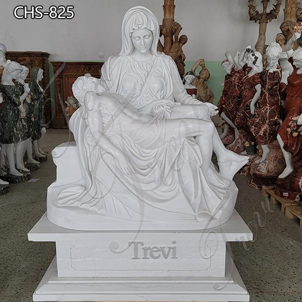 Life Size Marble Pieta Statue Church Decoration for Sale CHS-825