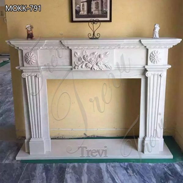 Classical Marble Fireplace Mantel Home Art Decor for Sale MOKK-791
